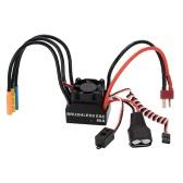 3650 3900KV 4P Sensorless Brushless Motor & 60A Brushless Splash-Proof Electronic Speed Controller ESC with 5.8V/3A Switch Mode BEC for 1/10 RC Car