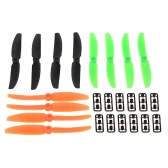 6 Pairs Original RC Part Gemfan 5040 Propellers Three Colors for H250 H280 QAV250 Racer250 TL250H RC Quadcopter