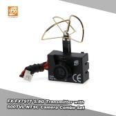 Original FX FX797T 5.8G 25mW 40CH Mini Transmitter with 600TVL NTSC Camera Combo Set for FPV RC Quadcopter