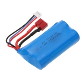 7.4V 1500mAh batteria con T Plug per Feiyue FY-03 WLtoys 12428 RC Auto