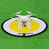 GoolRC 78cm Apron Fast Foldable Retractable Fluorescence Landing Pad for DJI Mavic Pro Phantom 3 4 FPV Quadcopter RC Helicopter