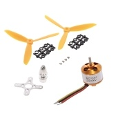A2212 2200KV Brushless Motor with Pair 6045 Propeller for 450 X525 Quadcopter Fixed Wing