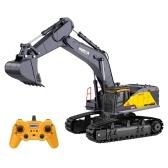 HUINA 1592 1:14 RC Excavator 2.4Ghz Electric Remote Control Excavator Toy