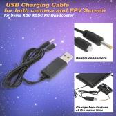 USB Cable de carga para Syma X5C X5SC Quadcopter C4001 cámara y pantalla FPV