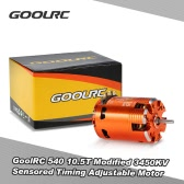 GoolRC 540 10.5T Modificado Timing 3450KV Sensored sin escobillas del motor ajustable para 1/10 coche de RC