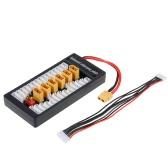 2-6S LiPoバッテリーImax B6 B6AC用の並列充電アダプタボードXT60プラグバランスプレート