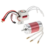 SURPASS HOBBY Platinum Set 3660 3800KV Brushless Motor with 60A ESC Waterproof for 1/10 RC Car Truck