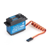 Power HD LW-20MG 20Kg Servo digitale ad alta coppia impermeabile con ingranaggio in metallo per RC 1/10 1/8 fuoristrada Car Buggy Truck