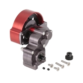 Aluminum Transmission Gearbox for 1/10 Monster Truck RC Car Crawler AXIAL SCX10 RC4WD REDCAT