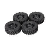 4pcs 1.9 Inch 96mm Crawler Car Wheel Rim and Tire for 1/10 HSP Redcat Traxxas Axial SCX10 D9 RC Car