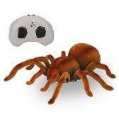 RC Spider enfants télécommande jouet Simulation réaliste pour les farces et Halloween avec mouvement rapide yeux brillants