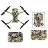 Kompatibel mit DJI Mavic Mini 2 RC Drohnenaufklebern Dekoration Wasserdichter Aufkleber Skin Controller Aufkleber