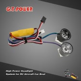 Sistema di fari GTPOWER High Power per aerei RC auto barca