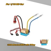 Wodoodporna 320A szczotkowany ESC Elektroniczny regulator prędkości z 5V / 3A BEC T-wtyczką do 1/10 RC Car
