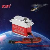 RCモデル&ロボットのためのオリジナルKST MS3509 HVアルミ合金ケース非接触位置センサスチールギアデジタルサーボ
