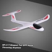 HF-i3のT字型テールEPPハンドグライダー飛行機480ミリメートル全幅アウトドア航空機を投げます