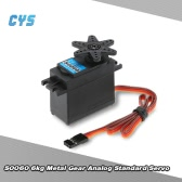 Original CYS S0060 6kg Metal Gear Analog Standard Servo for 1/10 Axial SCX10 Redcat RC Racing Car