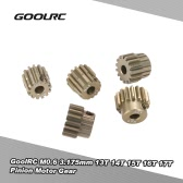 GoolRC M0.6 3,175 millimetri 13T 14T 15T 16T 17T 0,6 Module Pignone motoriduttore per 1/8 1/10 RC Off-road Buggy Monster Truck spazzolato motore brushless