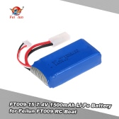 Original FT009 7.4V 1500mAh Li-Po Battery Boat Spare Part for Feilun FT009 RC Boat