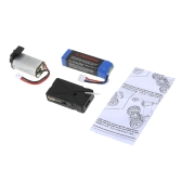 Original JJR/C Q36-001 Upgraded 60km/h Energy Power Set Receiver Motor Battery Parts for Q35 Q36 1/26 RC Car