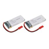 2pcs GoolRC 3.7V 1200mAh 25C JST Plug LiPo Battery para Walkera WKLIPO-5 # 10 5G4Q3 SYMA S006