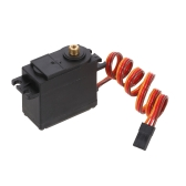 ZD Racing 6KG Steering Servo 6V-7.2V 0.12sec/60°Metal Gear Waterproof Servo for 1/8 1/10 RC Car