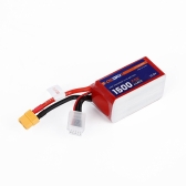 OCDAY 4S 14.8V 1500mAh 75C High Rate akumulator LiPo XT60 dla QAV180 220 250 RC FPV Racing Quadcopter Drone