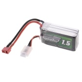 Batteria ricaricabile Li-Po 11.1V 1500mAh 30C 3S con spina T per RC Racing Drone Quadcopter Elicottero Airplane Car Truck