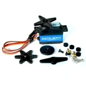 CYS-S8202 High Torque Metal Gear Digital Servo dirección para 450/500 RC Helicóptero RC Off-Road Car Boat Airplane