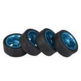 4 unids TPOWER rueda del neumático con cubo para WLtoys A959 A949 A969 A979 K929-B 1/18 RC todoterreno