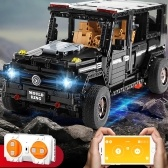 Building Blocks Toy Bricks 1:10 RC fuoristrada Car Truck giocattolo educativo