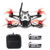 EMAX Tinyhawk II Racing Drone FPV Drone 120km/h F4 5A ESC Brushless Motor 7000KV RunCam Nano2 700TVL 37CH 25/100/200mW VTX FPV Quadcopter BNF