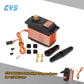 Original-CYS-S8218 40kg Metallzahnrad-Digital 6V-7,4V 0.18s-0.20s / 60 ° High Torque HV Servo für 1/5 RC Car