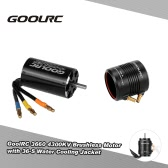 Original GoolRC 3660 4300KV Brushless Motor and 36-S Water Cooling Jacket Combo Set for 800-1000mm RC Boat