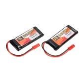 2pcs ZOP Power 3.7V 1200mAh 25C LiPo batería JST Plug
