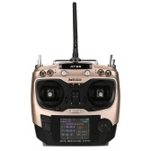 RadioLink AT9S 2.4GHz 10CH Remote Control System Transmitter Mode2 & R9DS 10CH Receiver for RC Drone Aircraft Helicopter Multicopter