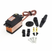 CYS-S2109 11Kg High Torque Metal Gear Servo de dirección digital para 600 RC Helicóptero RC Car Boat Airplane Toys