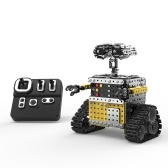 728PCS 2.4GHz 10 Channel RC Robot Building Blocks DIY Stainless Steel Robot Toy Assembly Kits