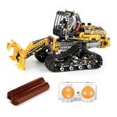 873PCSリモートコントロールビルディングブロックカーRCトラックビルディングブロック教育玩具
