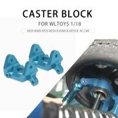 2PCS Front Caster Block Metal C-hub 1/18 RC Car Parts for WLtoys A959-B A979-B Car