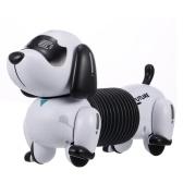 LE NENG TOYS K22RCロボット犬RCロボットスタントパピー電子ペット音付きプログラム可能なロボット