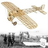 DWH VX14 1:23 échelle 380mm envergure avion statique en bois bricolage modèle de construction