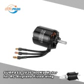 Ursprüngliche SURPASS High Performance 2826 900KV 14 Polen Brushless Motor für RC Flugzeug Fixed-wing