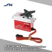 JX BLS-7007MG Metall Zahnrad Brushless Digital Schmalband Schwanz Servo für RC 550-700 Flugzeug Hubschrauber
