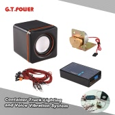Original G.T.POWER Container Truck Lighting and Voice Vibration System for Tamiya RC4WD Tractor RC Truck