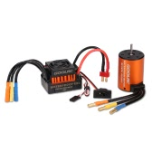 GoolRC Upgrade Waterproof 3650 4300KV bezszczotkowy ze 60A ESC Combo Set for 1/10 RC Car Truck