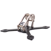 GEPRC Sparrow GEP-MX3 139mm X-Type 3in Carbon Fibre FPV Racing Drone Quadcopter Zestaw ramek z diodami LED