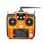 RadioLinkAT10Ⅱ2.4GHz 12CHリモートコントロールトランスミッタ&R12DS 12CHレシーバ&PRM-01 RCドローン用電圧テレメトリモジュール