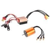 OCDAY B2430 5800KV Motore brushless sensorless impermeabile con S-35A Set da 3,5 mm ESC per 1/16 1/18 RC Car Boat