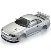 KillerBody 48644 257mm NISSAN SKYLINE (R34) Finished Body Shell Frame for 1/10 Electric Touring RC Racing Car DIY